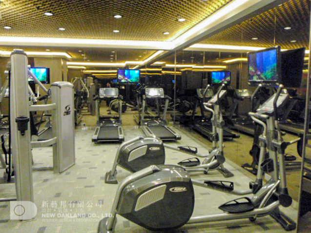 Gym Room - The Apex Horizon, Kwai Chung