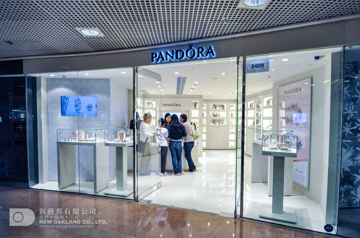 Shop front - Pandora, Harbour City, Tsim