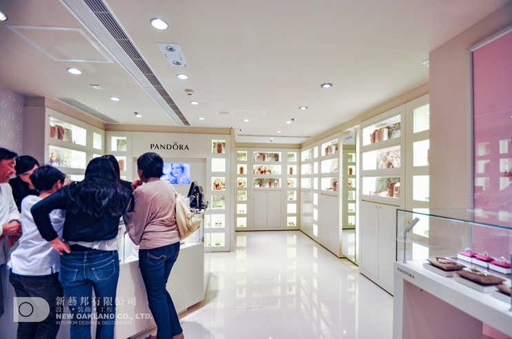 Sales area - Pandora, Harbour City, Tsim Sha Tsui