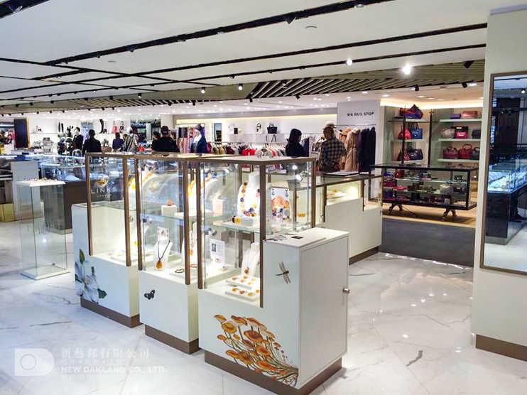 Sales area - House of Amber, TST Sogo, Tsim Sha Tsui