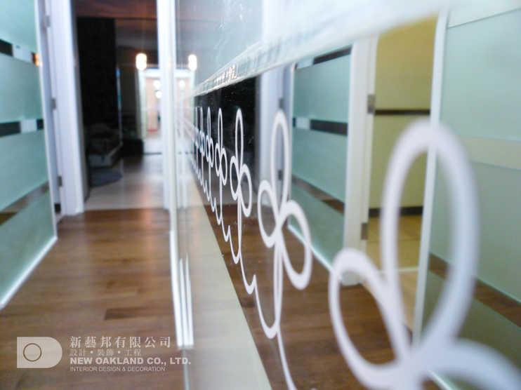 Wall feature - Metro Town Model Flat, Tiu Keng Leng