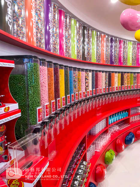Candy wall - Candylicious, The Peak