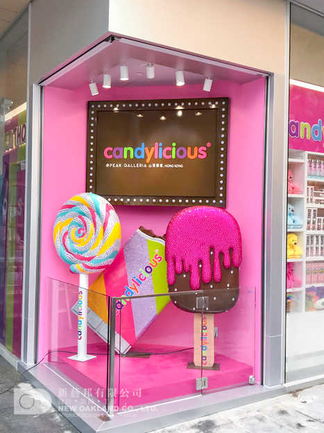Exterior display - Candylicious, The Peak