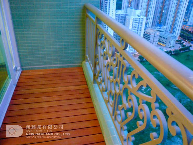 Balcony - Metro Town Model Flat, Tiu Keng Leng