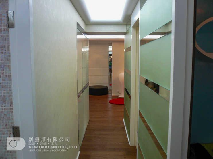 Corridor - Metro Town Model Flat, Tiu Keng Leng