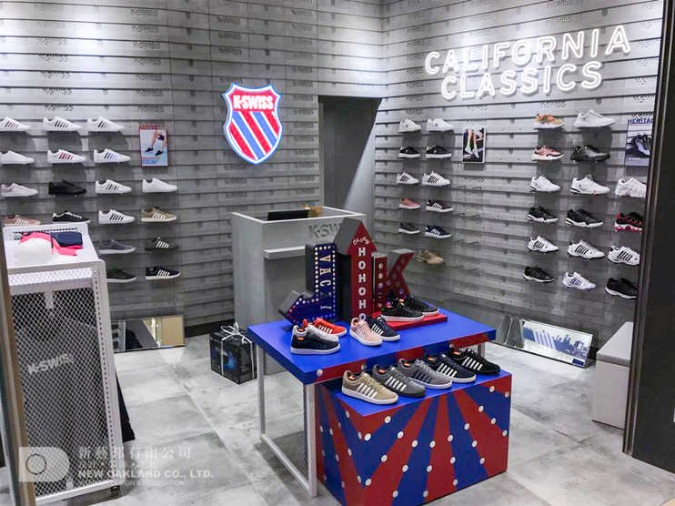 Sales area -  K-Swiss, Harbour North, North Point