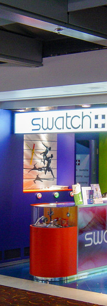 Swatch, Hong Kong Airport