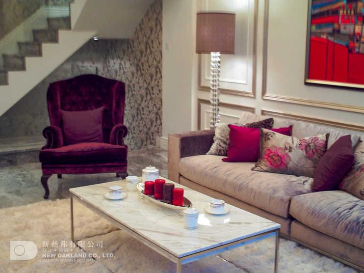 Living Room - Cheung Kong Model Flat, Tung Chung