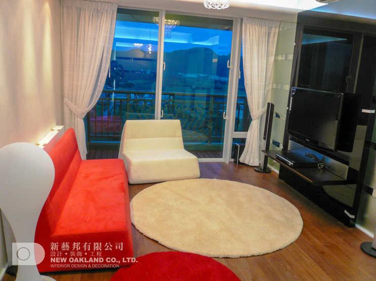 Living Room - Metro Town Model Flat, Tiu Keng Leng