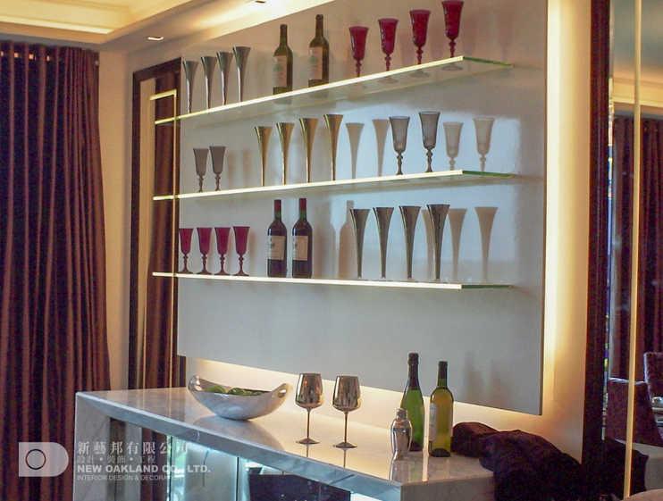 Wall display - Cheung Kong Model Flat, Tung Chung