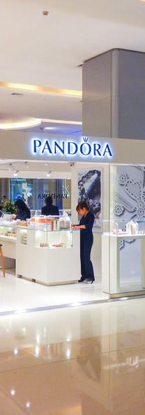 Pandora, Hong Kong & Shenzhen