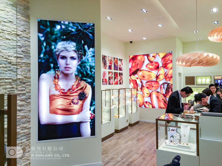Interior display - House of Amber, The Venetian, Macau