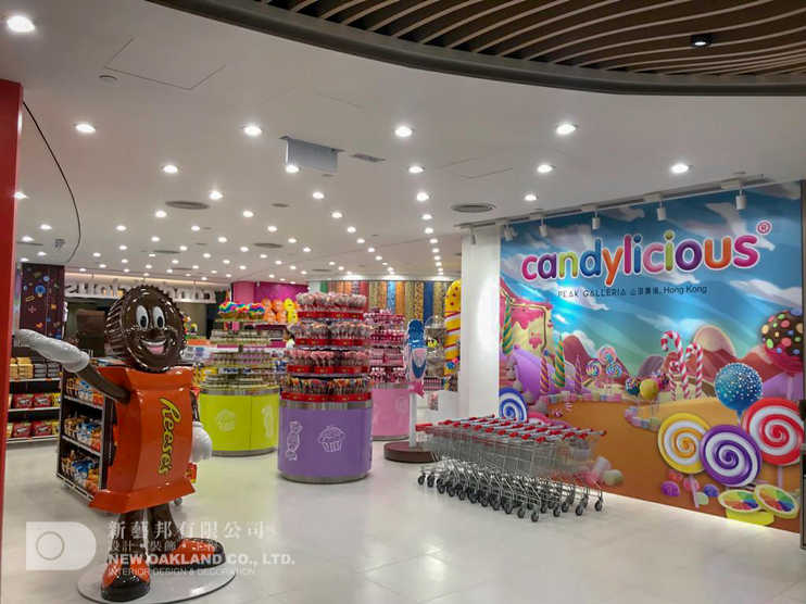 Shop front - Candylicious, The Peak
