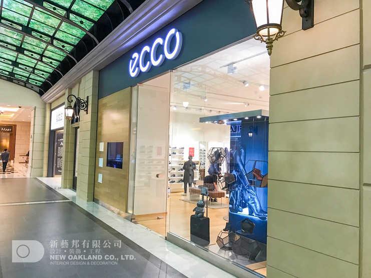 Shop front - ECCO, The Parisian, Macau