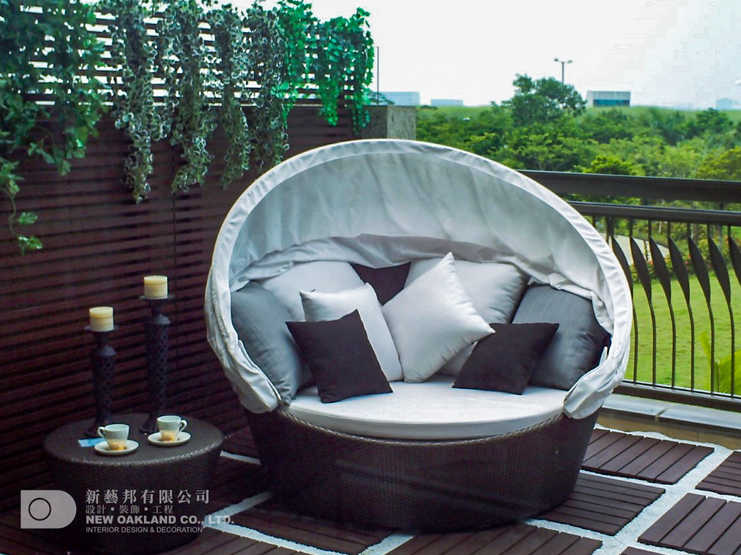Balcony - Cheung Kong Model Flat, Tung Chung