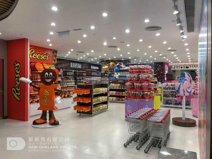 Sales area - Candylicious, The Peak