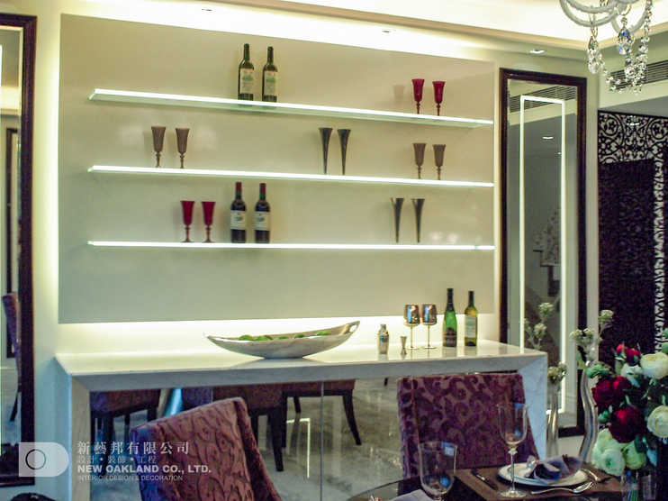 Bar area - Cheung Kong Model Flat, Tung Chung