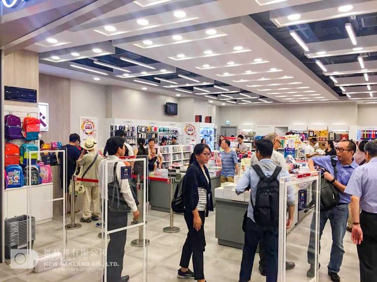 Sales area - Popular, Yoho Mall, Yuen Long