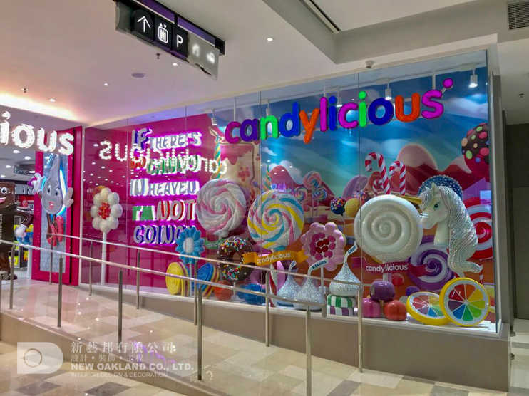 Window display - Candylicious, The Peak