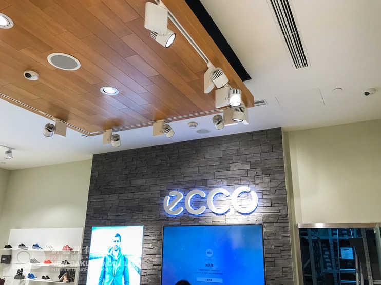 Cashier backwall - ECCO, Galaxy Hotel, Macau