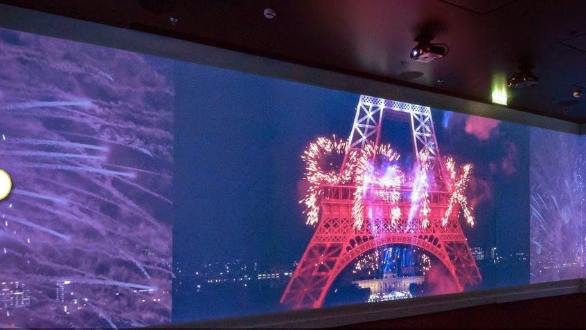 Spectacle Immersif à la Tour Eiffel