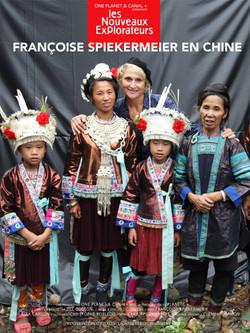 Les Nouveaux Explorateurs : Françoise Spiekermeier en Chine (2012)