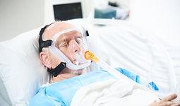 Pulmodyne® BiTrac™ MaxShield on patient