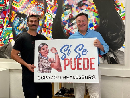 EACH Foundation's Jack Steffen Supports Corazon Healdsburg