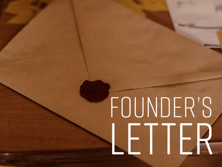 "EACH Foundation ""Letter from the President,"" by Lionel Shaw, July 31, 2019:"