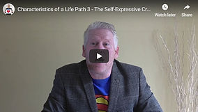Characteristics of a Life Path 3 - The S