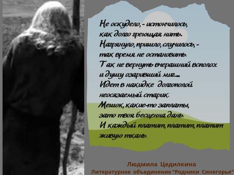 Родники Синегорья. Людмила Цедилкина
