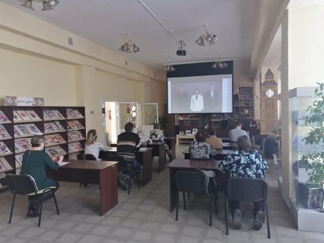 Тотальный диктант-2021 в Центральной библиотеке