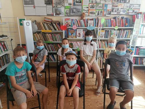 """""""Безопасность на воде"""" в Азиатской сельской библиотеке №3"""
