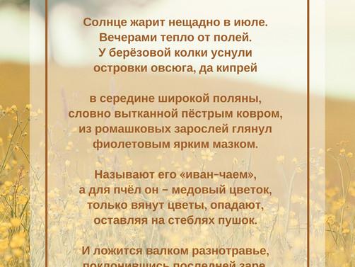 Сергей Ханжин. Июль