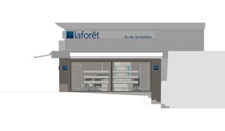 3D-laforet-seynod Detaille facade escali