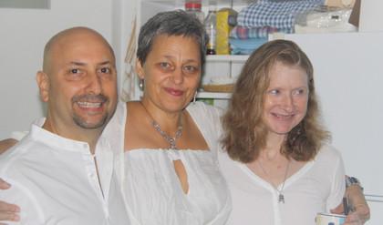 Jim, Anezka and Laura