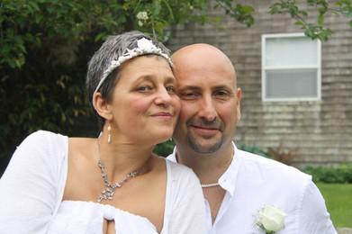 Anezka (the Maid of Honor) and Jim