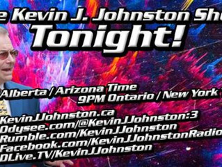 On the Kevin J. Johnston Show we have a special guest, our friend, Dawid Pawlowski