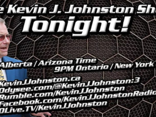 On the Kevin J. Johnston Show with special guest, Martin McDermott