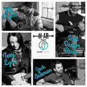 Scott Danger Bravo, Terri Lynn, Jeff Przech, and Zach Andersen at MoAR 30