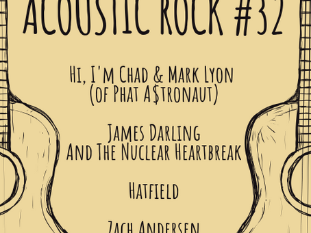 Monsters of Acoustic Rock 32 - Fri, Nov 16th @Sage Sound Studios CT