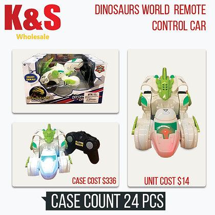 Dinosaurs World Remote Control Car