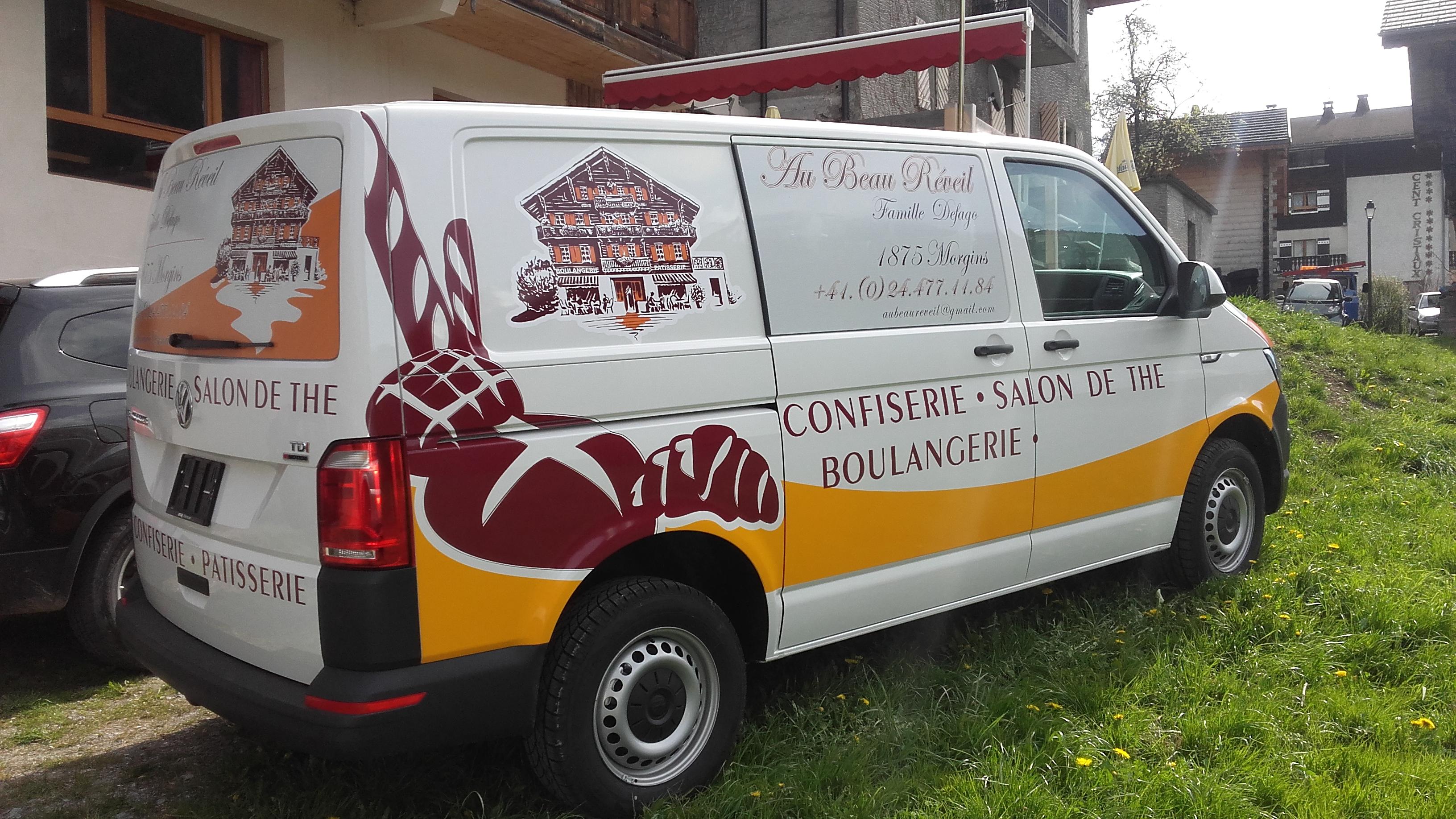 Camion Boulangerie Defago