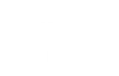 Holes in the Wall Collective Logo - white with transparent background