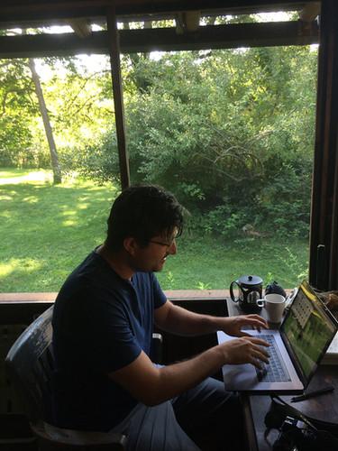 Creative Resident Brad Necyk 2017