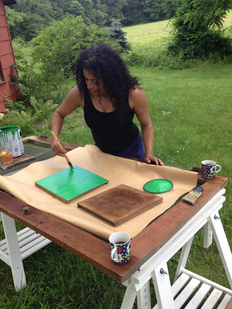 Creative Resident Natasha Corbie 2015