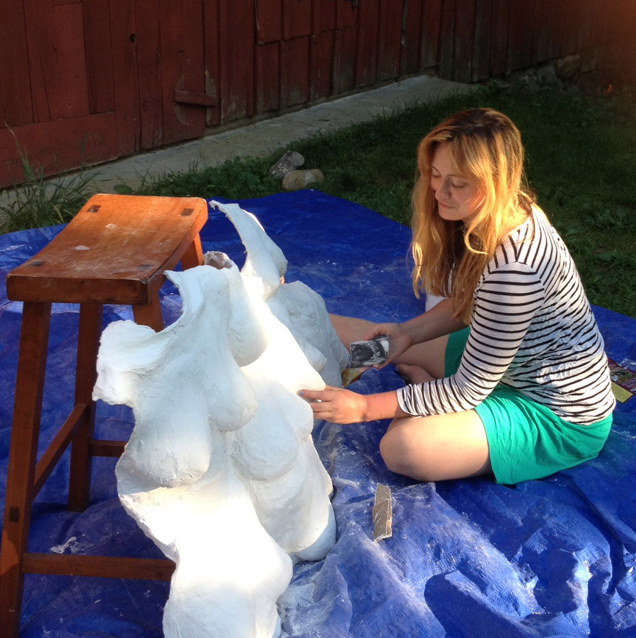 Creative Resident Caroline Parsons 2016