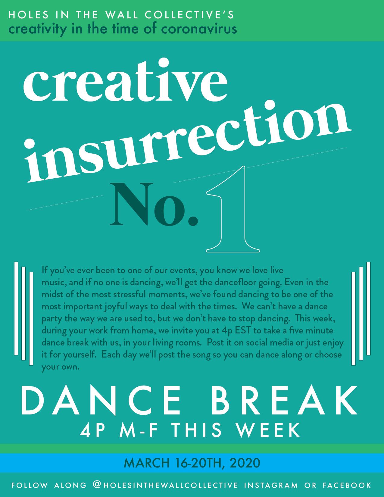 Creative Insurrection No. 1