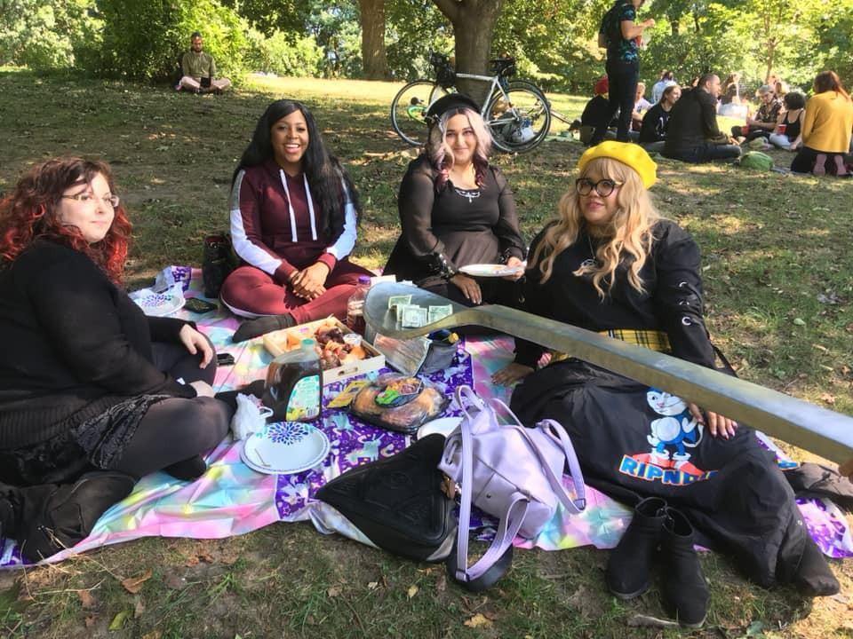 Teeaspoon Brigade Picnic in Prospect Park
