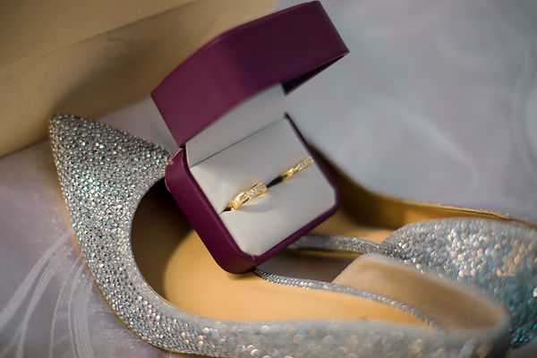 glitter bridal shoes